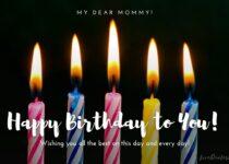 happy birthday to mommy